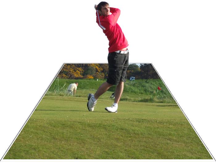 Gary Golfing