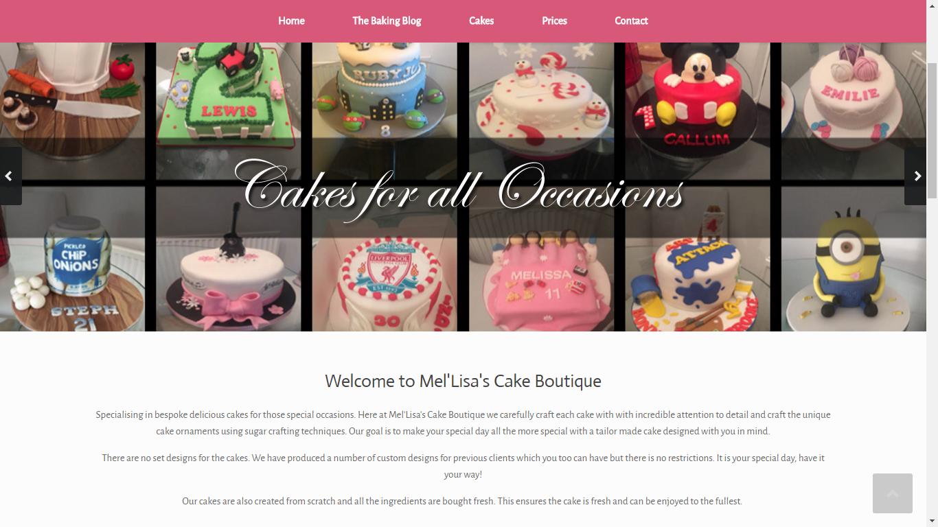 Melisa's cakes image